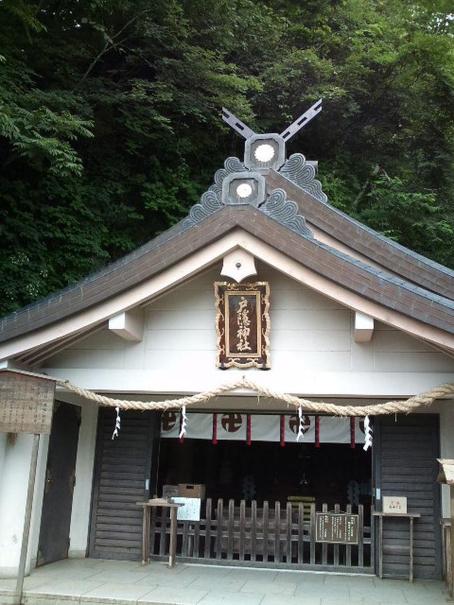 その3は7月30〜31日、松本⇒戸隠⇒上山田温泉⇒東京。<br />薄曇りだけど暑かった…。