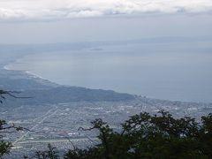 箱根縦走:明神ヶ岳から金時山。