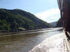 ラオス・タイ北部放浪の旅 5(スローボートでパックベン・フアイサイ編)