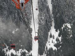 地上400メートルの綱渡り(カナダ、2011年4月)