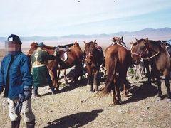 弾丸モンゴル0109  「アメリカ同時テロの直後、世界一周の直前に大草原で乗馬を楽しむ」  ~ウランバートル郊外~