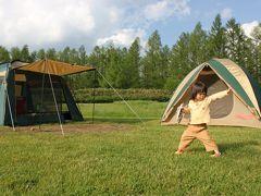 富良野でキャンプ