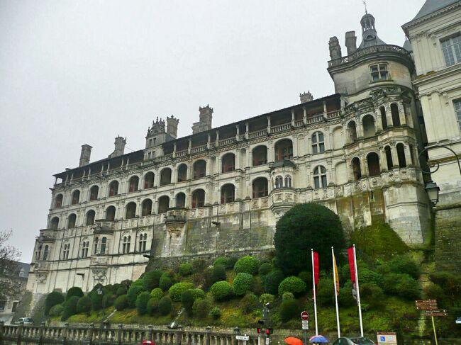年末年始のフランス #5 - ブロワ城、電車で巡るロワール川古城 1