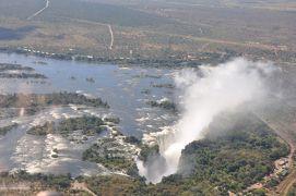 2011GW 12日間で世界三大瀑布制覇 vol.3 空から見るヴィクトリアフォールズ