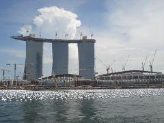 全日空で行くシンガポール、マレーシア、インドネシア2009年末