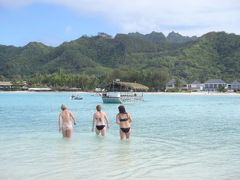 イケメンラグーンクルーズでノリノリ!@クック諸島ラロトンガ