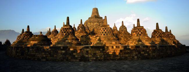 インドネシア周遊 6 遺跡ポロブドゥー...