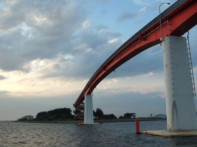 木更津港へ海を見に行ってきた