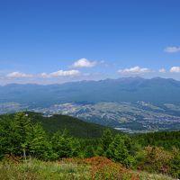 すずらん咲く入笠山へ