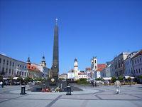 ほぼ中欧6カ国14都市を一人旅⑩バンスカー・ビストリツァの噴水