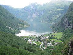 ノルウェーの旅(1)・・ゲイランゲルフィヨルドとブリクスダール氷河を訪ねて