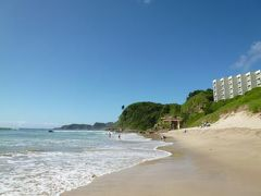夏の伊豆白浜! 海を眺めて優雅に過ごす♪ Vol5(第2日目:午前) 美しい白浜海岸で優雅に過ごす♪ランチは近場にある絶品海鮮料理「えび満」!