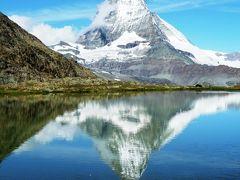 181-スイス・ハイキング三昧の旅2011【4】…「ゴルナーグラート~リッフェルゼー~フィンデルン村」逆さマッターホルンに出会う感激のハイキング