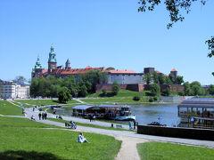 ほぼ中欧6カ国14都市を一人旅⑬ヴァヴェル城の遠景スポット
