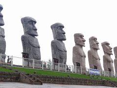 アッと驚く・・・札幌のモアイ像