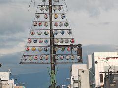 【国内68】魚津出張とんぼがえり-夕方の魚津,万灯台,諏訪神社など