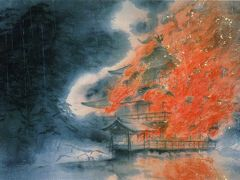 松坂屋美術館・絵葉書で綴る展示会(1):川端龍子展