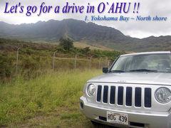 【ハワイオアフ島ドライブ】ヨコハマベイビーチ~ノースショア