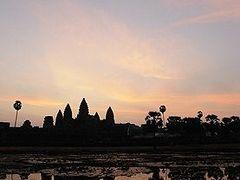 ★2月のカンボジア 夜明けの頃