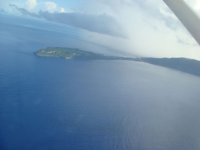 """夏休みを利用して、グアム経由にて北マリアナ諸島はロタ島に行ってきました。飛行機から見る海は見事な""""ロタブルー""""!! そして、小さな島には大自然がいっぱい!現地の方は皆親切で、治安もよく(パトカーはほどんど走らないそうです)、女一人旅でも安心して動けるところでした。"""