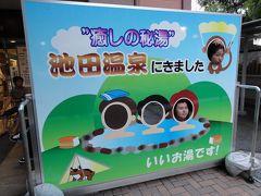 車中泊の旅-2011夏休み避暑編:No.6道の駅池田温泉