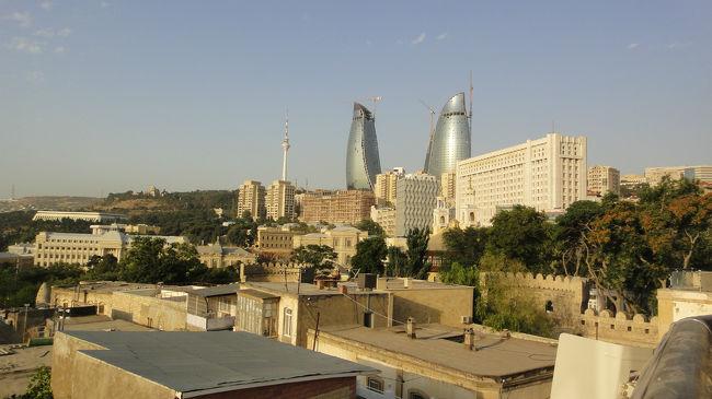 風の町,モダンシティ・バクー ~2011夏・コーカサス3か国+モスクワ旅行の19日間・1~