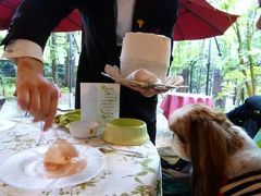 優雅な避暑♪ 上信越国立公園でリゾートライフ! Vol.22 ☆軽井沢のフランス料理「ル・ベルクール」で愛犬と一緒に優雅なランチNo.2♪