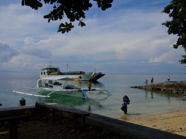 <br /> セブ、マクタン島から車で3時間半<br />セブ島最南端から、バンカーボートでネグロス島へ