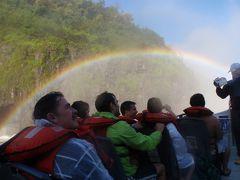 大自然を満喫!ブラジルの旅④テンション高っ!滝へ突っ込めボートの仲間たち