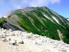 白馬岳の展望所 新潟県の最高峰・小蓮華山2766m登山