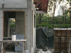 5日曜あさベンチャシリ公園 トイレ新設つづき