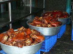 台湾の豚足で有名な萬巒の猪脚街。念願かなってようやく訪問!