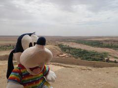グーちゃん、モロッコへ行く!(アイト・ベン・ハッドゥに登る編)