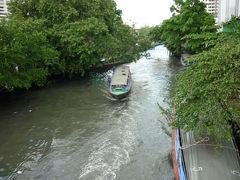 セーンセーブ運河ボートでお寺めぐり