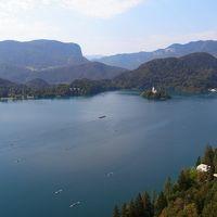 スロベニアからヴェネツィアへ(1) ブレッド湖