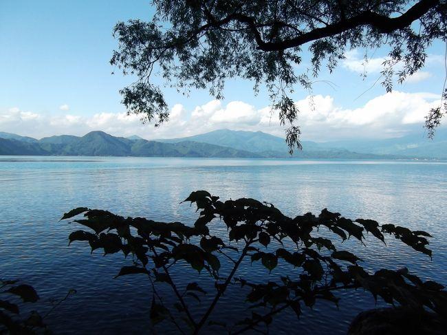 小岩井農場で遊んだあと秋田の田沢湖を通り角館の武家屋敷を歩きました。田沢湖の湖水浴場が面白そうだったので2週間後湖水浴をしに行きました。