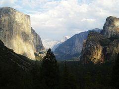 ヨセミテ国立公園で、とんでもなく巨大な岩壁と樹木に出会う(サンフランシスコから1泊2日のパッケージツアー) ◆アメリカ◆