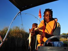 ボツワナ&ナミビアの旅(3)ウォーキングサファリ&フィッシング