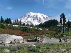 2011夏 シアトルと周辺の国立公園を訪問05:マウントレニエ国立公園 パラダイス