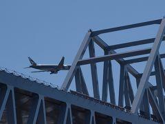 2011年 9月 東京ゲートブリッジ完成を待つ