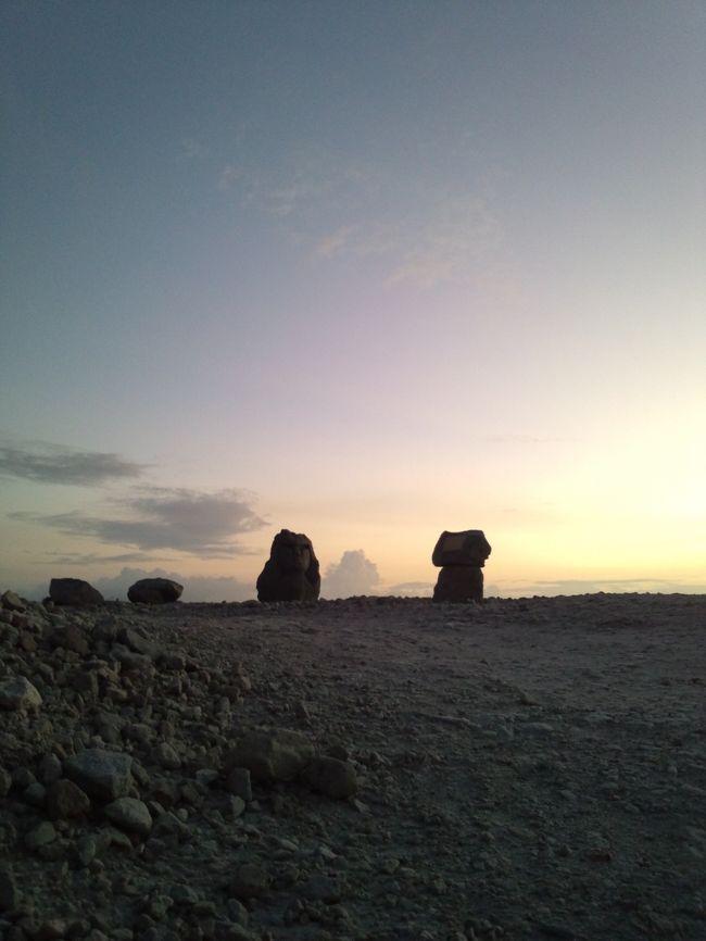 本日はまったり島内観光♪<br /><br />海岸ではしゃいだり<br />砂風呂入ったり<br />夕日見たり♪<br /><br />あっという間の1日でした!