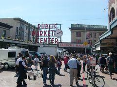 シアトルと周辺の国立公園を訪問09:パイクプレイスマーケット1