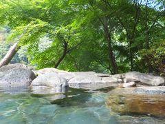 完全人任せの日光めぐり 2-3 花の宿・松やで一番露天風呂