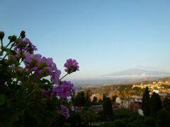 16日間の美食とビーチバカンスのシチリア!Vol3(第2日目朝) ☆タオルミーナ「Grand Hotel Timeo」で素敵な朝を迎えて♪