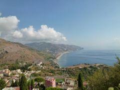 16日間の美食とビーチバカンスのシチリア!Vol6(第2日目午前) ☆タオルミーナのギリシャ劇場と絶景♪