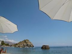 16日間の美食とビーチバカンスのシチリア!Vol8(第2日目午前) ☆タオルミーナの美しいマッツァーロビーチ(Mazzaro)で優雅に過ごす♪