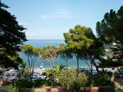 16日間の美食とビーチバカンスのシチリア!Vol10(第2日目午後) ☆タオルミーナのマッツァーロ(Mazzaro)から「Grand Hotel Timeo」へ帰る♪
