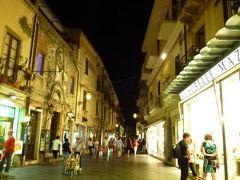 16日間の美食とビーチバカンスのシチリア!Vol12(第2日目夜) ☆タオルミーナ:美味しいディナー「Licchio's」と美しい夜景♪