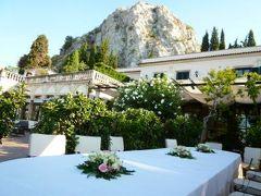 16日間の美食とビーチバカンスのシチリア!Vol13(第3日目朝) ☆タオルミーナ「Grand Hotel Timeo」で素晴らしい朝を迎えて♪