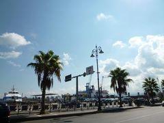 16日間の美食とビーチバカンスのシチリア!Vol14(第3日目午前) ☆タオルミーナからミラッツォ(Milazzo)へ快適なハイヤーで移動!ミラッツォでオシャレにカフェタイム♪